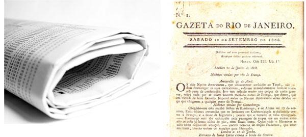 primeiro jornal do brasil
