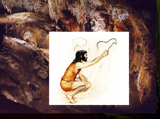 pintando cavernas